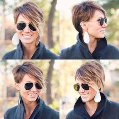 30 Super Short Hair Color Ideas | http://www.short-hairstyles.co/30-super-short-hair-color-ideas.html