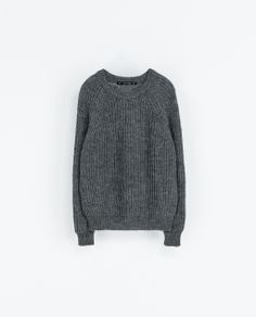 Image 7 of REVERSIBLE KNIT SWEATER from Zara
