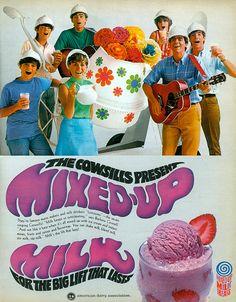The Cowsills Present Mixed-Up Milk, 1969, via Flickr