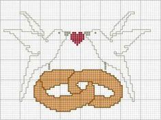 Kanaviçe Gelin Damat Şablonları - Dock Tutorial and Ideas Wedding Cross Stitch, Cute Cross Stitch, Beaded Cross Stitch, Cross Stitch Alphabet, Cross Stitch Embroidery, Hand Embroidery, Cross Stitch Patterns, Canvas Template, Crochet Chart