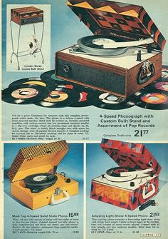 Alden's 60s Christmas Catalogue Record Players   ...Please save this pin.  Because for vintage collectibles - Click on the following link!.. http://www.ebay.com/usr/prestige_online