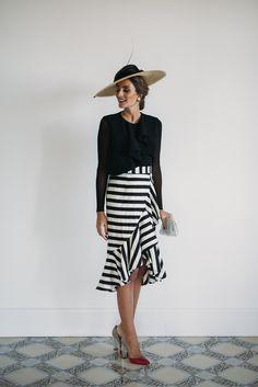 Look invitada boda: black&white-17013-misscavallier