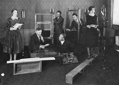 Radio drama (Schenectaby Museum Archives)
