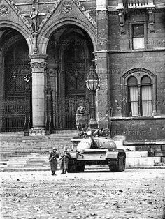 Hungarian Revolution 1956 Budapest Hungary, My Heritage, Cold War, New Pictures, The Past, Around The Worlds, History, Country, Troops