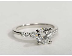 1.24 Carat Diamond Petite Diamond Engagement Ring | Recently Purchased | Blue Nile