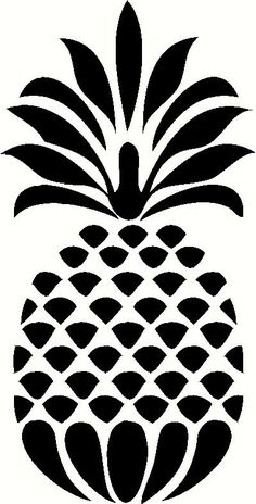 Decorative Pineapple Vinyl Decal | Car Decal | Kitchen Decals | The Wall Works