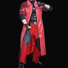 >> Click to Buy << Hot Game Movie Anime Devil May Cry 4 DMC4 Dante Cosplay Costume Full Set #Affiliate