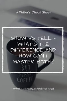 Show vs Tell is easily one of the most preached about rules when it comes to writing. Some writers think you should always show and never tell. Other writers think showing leads to paragraphs that are much too long and easily bores readers. The truth is you can and should do both. Fiction Writing, Writing Quotes, Writing Advice, Writing Resources, Writing A Book, Script Writing, Show Dont Tell, Web Design, Writing Boards