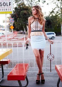 Chiara Ferragni - Os 22 Melhores Looks das Blogueiras em Agosto - Oh, Lollas…