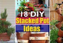 18 DIY Stacked Pot Ideas