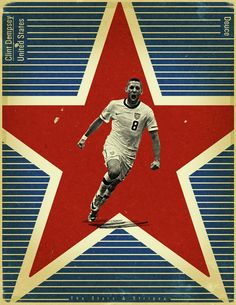 World Cup 2014 - Each Countrys Fan Favourite by Jon Rogers, via Behance #soccer #poster