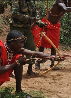 Warrior Princess: Training with the Masai Warriors of Kenya (Bush Adventures http://www.bush-adventures.com/our-programs/)