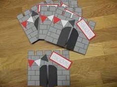www.bestempelt.de: einer für alle sword card, kindergeburtstag, Einladung