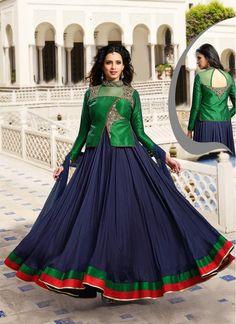 Fantastic Navy Blue Designer Suit