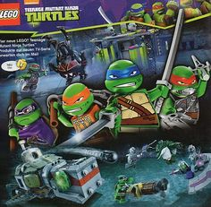 Teenage Mutant Ninja Turtles (2014) | going to be seven new LEGO Teenage Mutant Ninja Turtles sets in 2014 ...