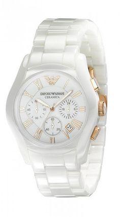 4f5efbe8881c Emporio Armani Herren   Damen Uhr AR1416 CERAMICA