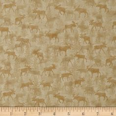 Moose on the Loose Moose Crossing Sand from @fabricdotcom  Designed by Cheryl…
