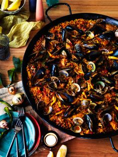"Paella: is typical in my city. We eat it every Sunday with family.  Watch out! In some ""touristic"" places they cook so wrong and very expensive..."