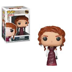 Step aboard the Titanic! The iconic film has received the Pop! Packaged in a window display box, this Titanic Rose Pop! Vinyl Figure measures approximately 3 tall. Funk Pop, Pop Figurine, Figurines Funko Pop, Collectible Figurines, Captain Marvel, Marvel Dc, Jessica Rabbit, Titanic Rose, Rms Titanic