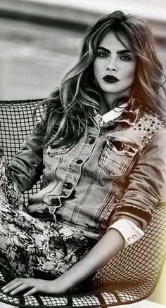 Cara Delevingne ♥ she's so beautiful http://tgcapts.tinybytes.me/supermodel-cara-delevingne-is-weird