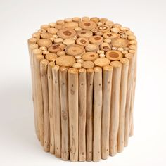 Image 2 of the product Round brown stool