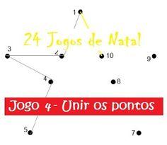 Traquinices e Lápis de Cera: Jogo 4 - Unir os pontos
