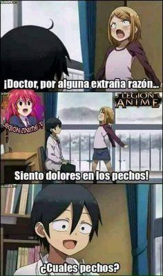 Memes de anime #detodo # De Todo # amreading # books # wattpad Gorillaz, Otaku Anime, Spiderman, Manga, Family Guy, Lol, Funny, Random, Google