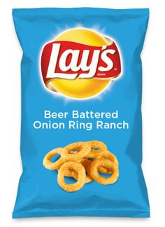 Wouldn't Beer Battered Onion Ring Ranch be yummy as a chip? Lay's Do Us A Flavor is back, and the search is on for the yummiest flavor idea. Create a flavor, choose a chip and you could win $1 million! https://www.dousaflavor.com See Rules.