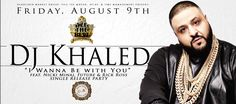 """Miami: Friday August 9th, 2013 #djkhaled """"I Wanna Be With You"""" Single Release at #RoomService Miami  http://celebhotspots.com/hotspot/?hotspotid=27477&next=1"""