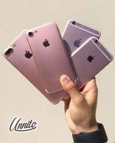 What to choose  Iphone 7 plus  Iphone 7  Iphone 6s plus  or Iphone 6s #rosegold #unnitotech
