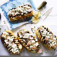 BBC predictions: Lobster in many forms including Lobster Rolls (see image and recipe) and lobster muffins.
