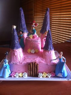 Another princess castle cake