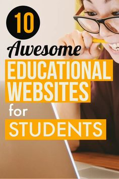 Looking for Educational websites for college students? Check out 7 Best Educational websites where you can learn & improve your knowledge for free. These Education resources will definitely help you in your studies. #education #website #knowledge #study #student