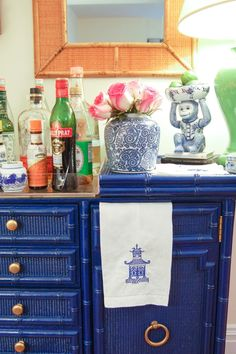 the pink clutch ...: Bar Cart Series ... No.2 The Chinoiserie Collective