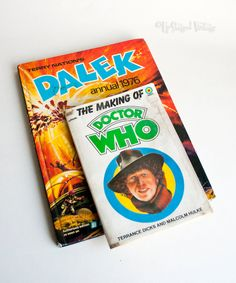 The Making of DOCTOR WHO & Terry Nation's DALEK Annual 1976 by UpStagedVintage on Etsy