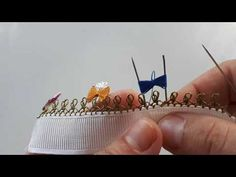 Muhteşem İğne Oyası Fiyonk Modeli - YouTube Bow Pattern, Lace Bows, Needle Lace, Filet Crochet, Background Patterns, Make It Yourself, Youtube, Line Art, Dish Towels