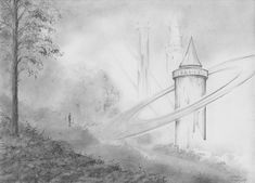 Look. Pencil drawing. Author: Witold Kubicha