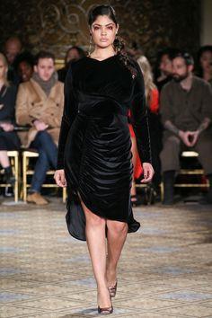 Ashley Graham, Candice Huffine, Plus-Size Models on the Fall 2017 Runways