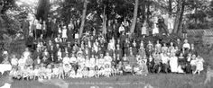 Hawick Common Riding annual Picnic Bowen Island - City of Vancouver Archives