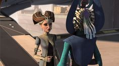 Senator Padme Amidala and Duchess Satine Kryze