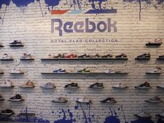 #reebok #jkrproductions #showroom #monza #setup #shoes #sport #colors #kids #royal #flag #collection