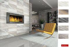 Evolution HD Porcelain Tile - Sand 12 x 24 Tiled Fireplace Wall, Linear Fireplace, Fireplace Update, Fireplace Built Ins, Fireplace Surrounds, Wall Tile, Discount Tile, Minnesota, Sand Floor