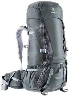 """A True Cross-Country Pack: Deuter's Aircontact 55+10. After walking 2,500 miles across the country with the pack so far, our tester reports it shows """"virtually no wear."""" $239."""