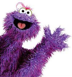 Purple Muppet