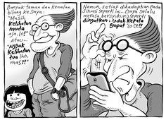 Mice Cartoon, Kompas Minggu - 12 April 2015: Udah Kepala Empat