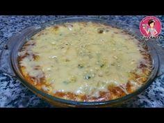 اكلة لذيذة للعشاء/طورطية الخضر محشية باللحم المفروم والشعرية الصينبة - YouTube