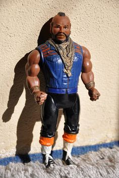 "Mr T action figure. He said phases like ""Always listen to your parents"" and ""Study hard in school"" My little brother had this and when he annoyed me, I'd hide it."