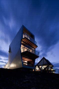 MONA Pavilions by Nonda Katsilidis in Hobart, TAS
