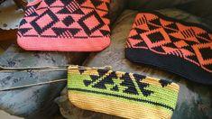 Bolsos trapestry crochet