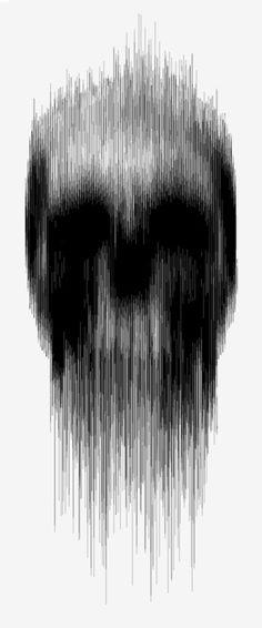 Skull artwork #noveltechnique